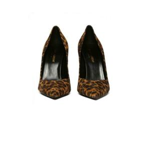 Kiki leopard printed pumps